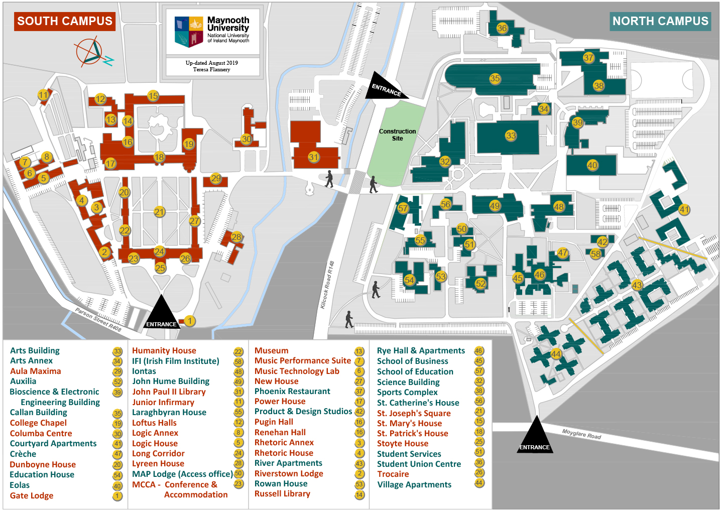 Basic Campus Map