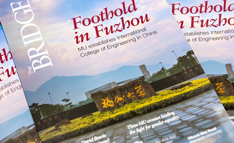 Covers of The Bridge Magazine