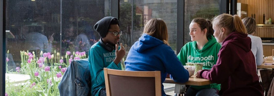 International Students in Pugin Hall