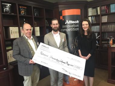Alltech prize Winner - Eden Maynooth University