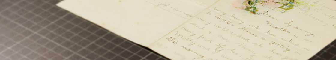 An Foras Feasa - Letter to Granny - Maynooth University