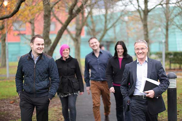 Design Innovation - Group Walking - Maynooth University