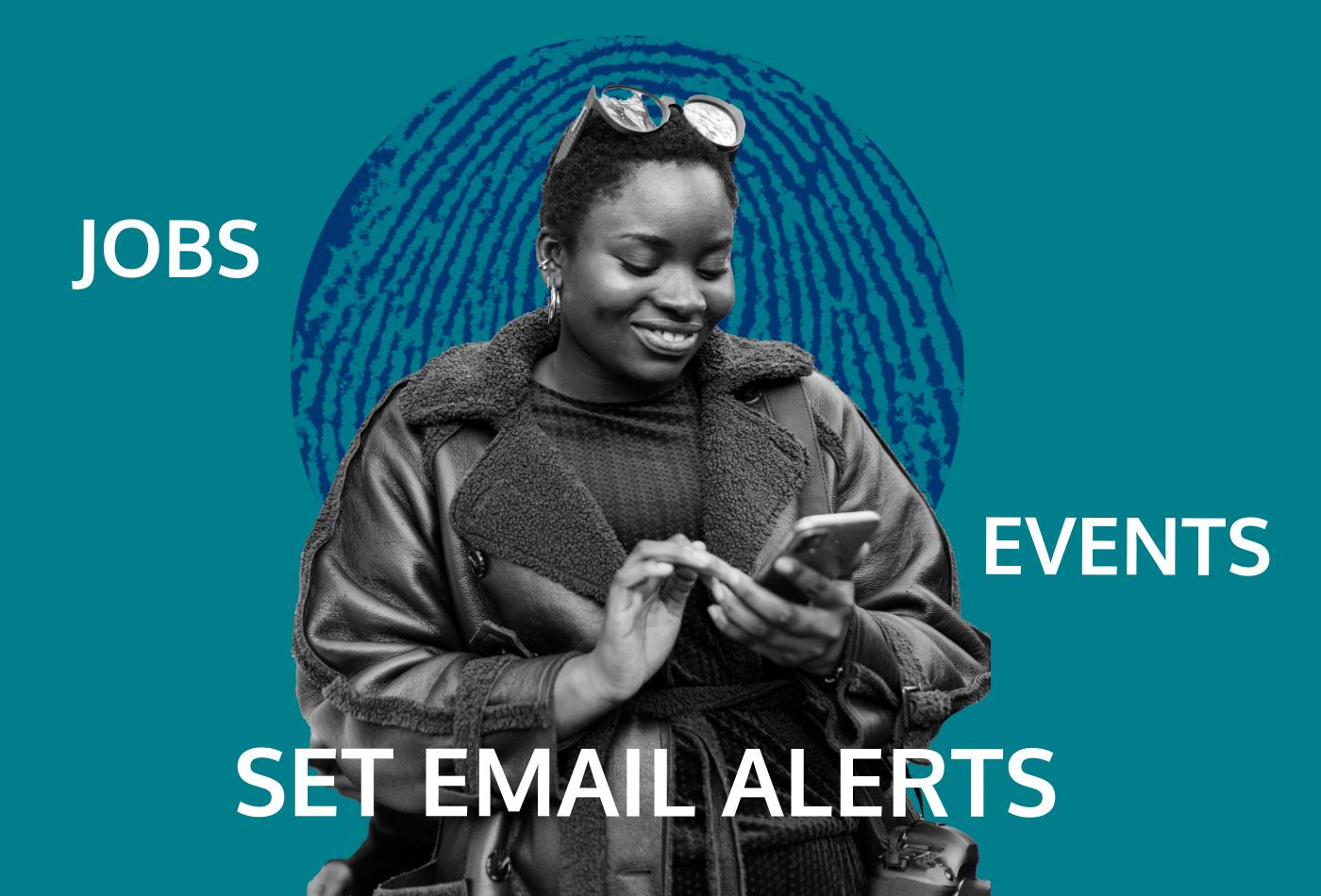 Set job and email alerts