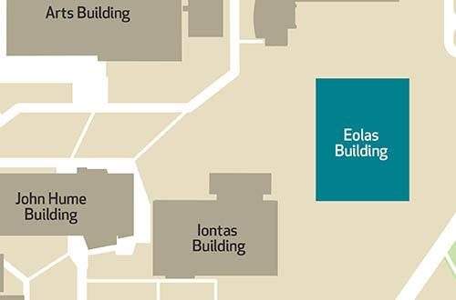 Maynooth University - Eolas Building Map