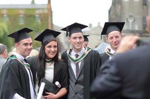 Graduation - Student taking image - Maynooth University
