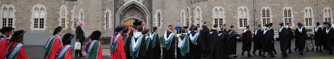 Graduation Procession - Graduates at the Square - Maynooth University