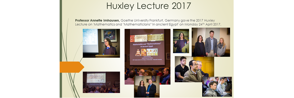Huxley Lecture 2017