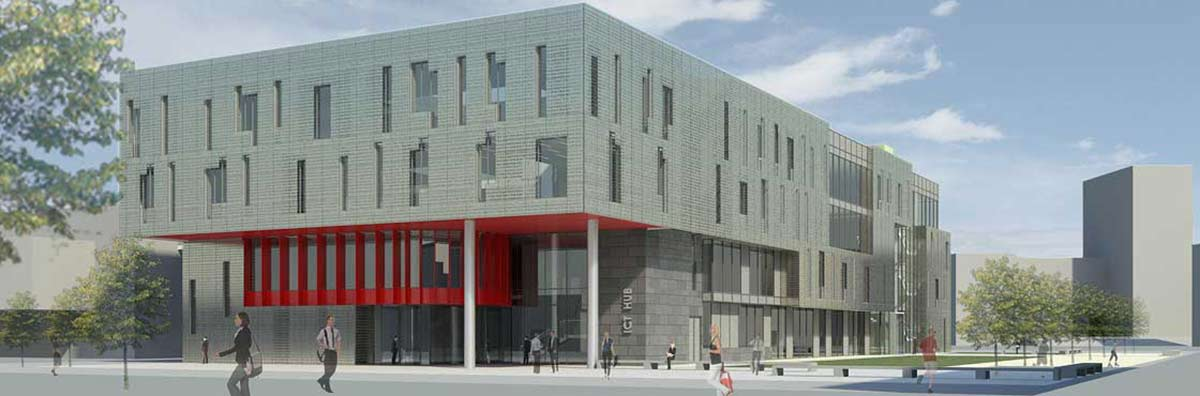 Commercialisation Office - Incubation Centre Artist Impression 1200 x 396 - Maynooth University
