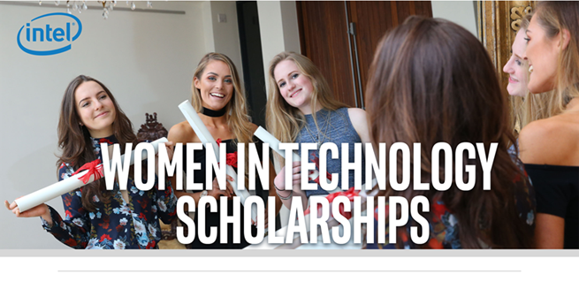 Women in Tech Intel Scholarship 2018