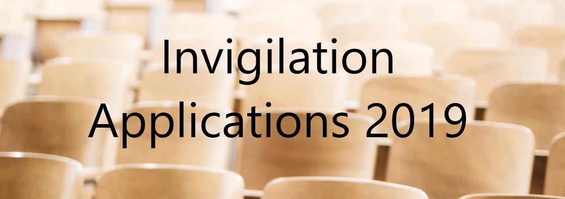Invigilation Applications 2019