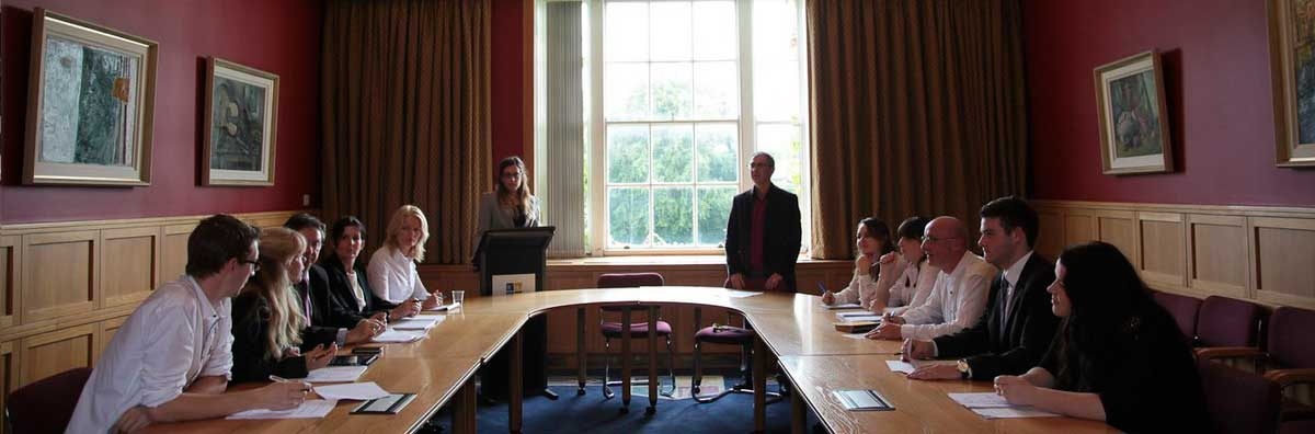 Law Mock Court - At Desk - Maynooth University