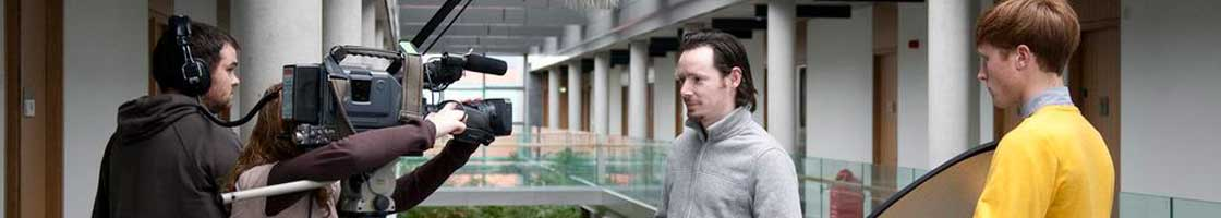 Media Studies - Filming at Iontas - Maynooth University