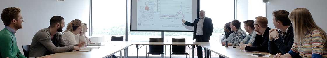 NIRSA - Rob Kitchin giving a lecture - Maynooth University