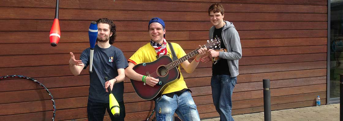 Open Day - Busking Society - Maynooth University