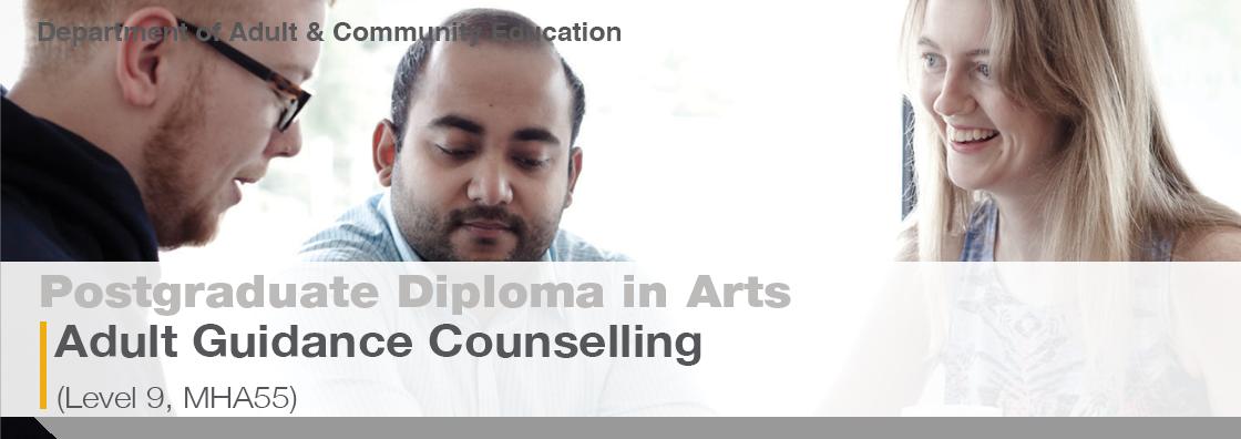 Post Grad Diploma Adult Guidance Brochure MHA55