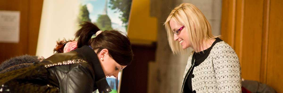 Postgraduate - Female Signing - Maynooth University