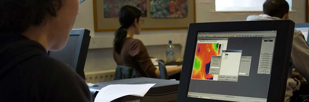 Postgraduate - Student Using a Computer - Maynooth University