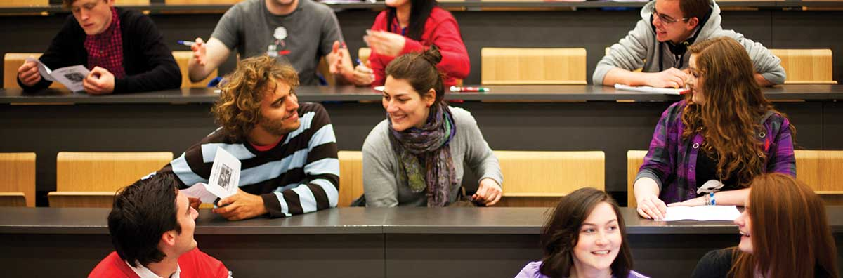 Postgraduate - Students in Lecture Room - Maynooth University