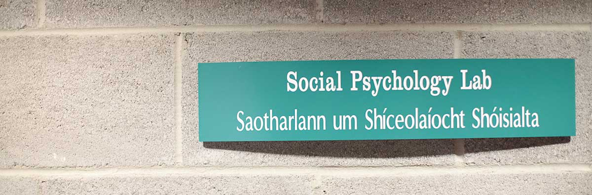 Psychology - Sign - Maynooth University