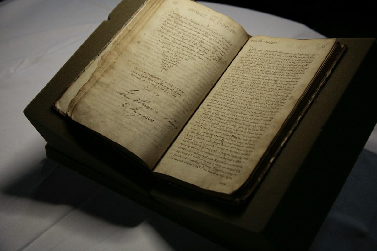 Manuscript containing Imtheacht na Tromdháimhe