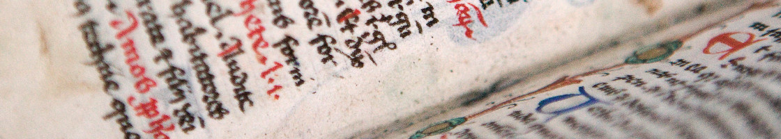 Old Book (detail) - Maynooth University