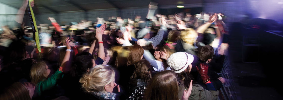 Crowd at Concert - Maynooth University