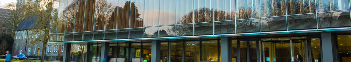 Library Exterior Reflection - Maynooth University
