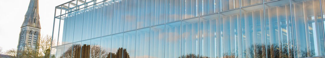 Library Exterior Reflection 2 - Maynooth University