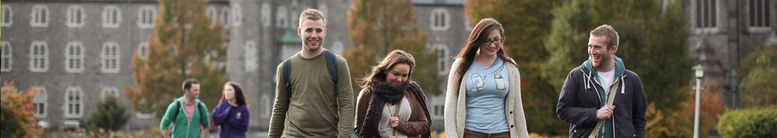 Walking across South Campus - Maynooth University