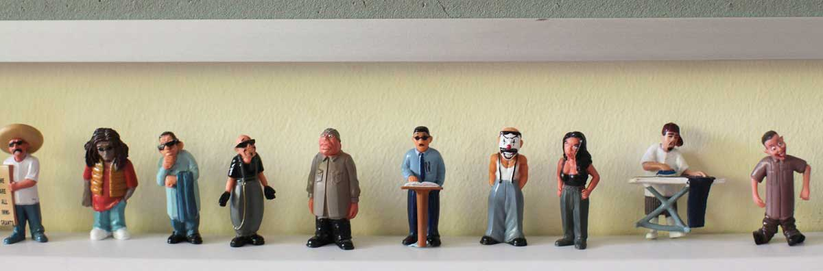 Spanish - Little Figures on Shelf - Maynooth University