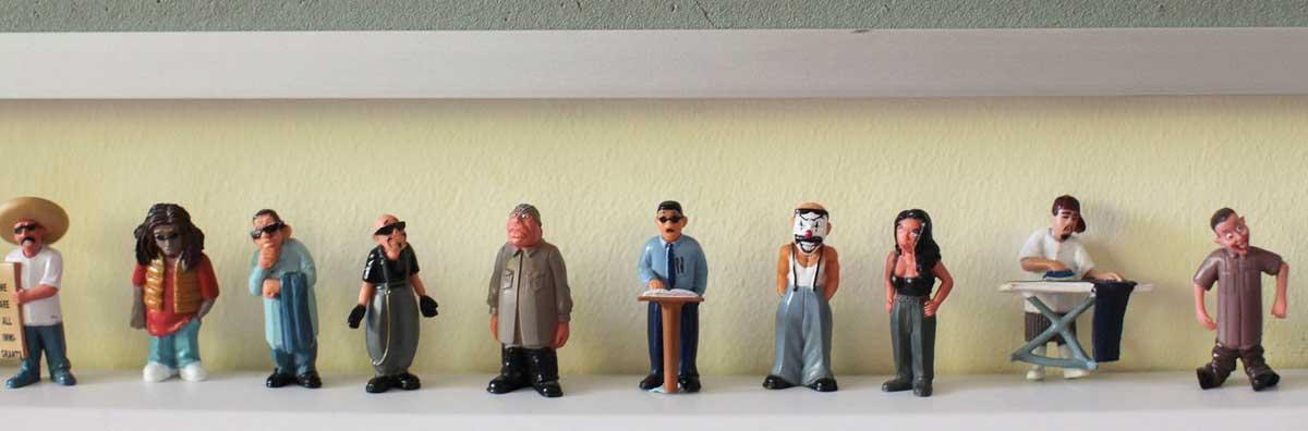 Spanish - Little Figures on Shelf - Maynooth University