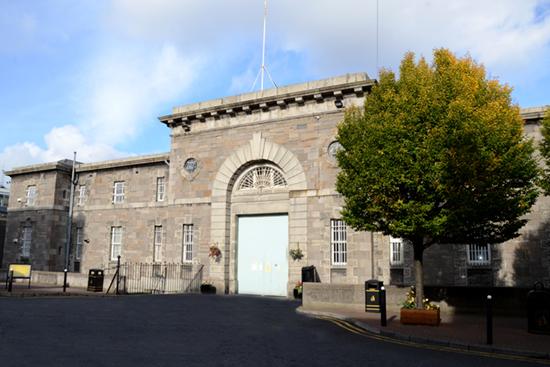 Mountjoy Prison gates