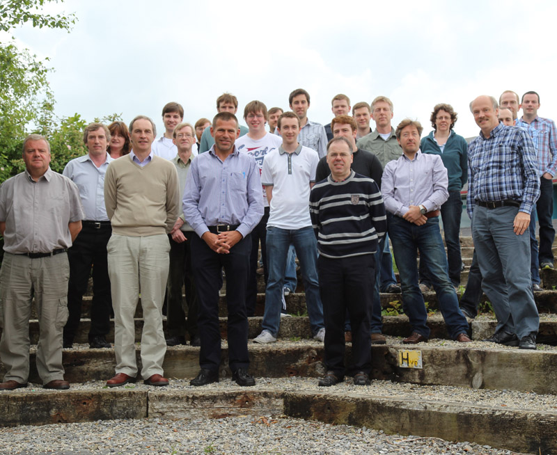 Experimental Physics - staff photo - Maynooth University