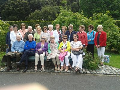 RSA -  Rose Garden Visit 2015 - Maynooth University