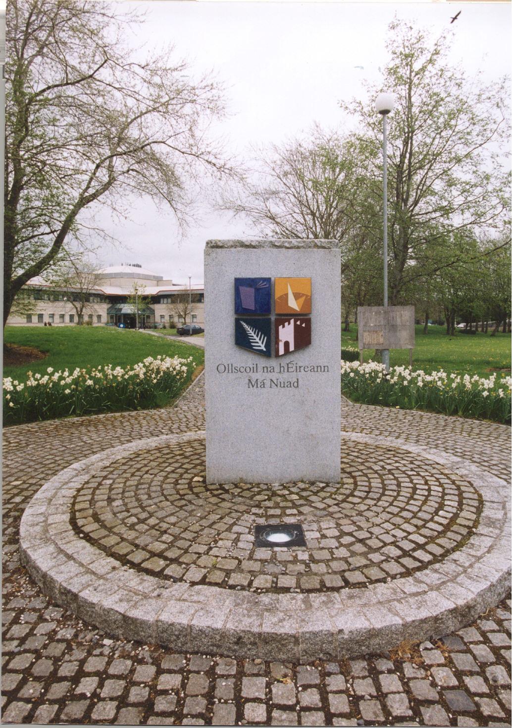 Maynooth University Plinth - Plionta Ollscoil Mhá Nuad