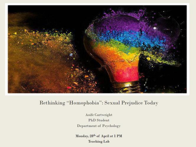 psychology of homophobia Author information: (1)1 department of psychology, university of massachusetts boston fathers/psychology female homophobia/psychology humans male mental.