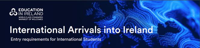 IO_Education Ireland International arrivals to Ireland banner