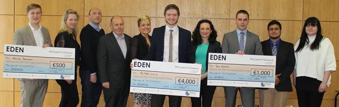 Eden finalists photo 2016 Entrepreneurship Challenge