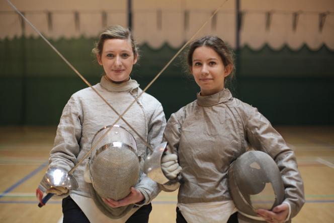 Sports - Female Fencers - Maynooth University