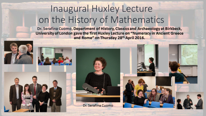 Huxley Lecture 2016