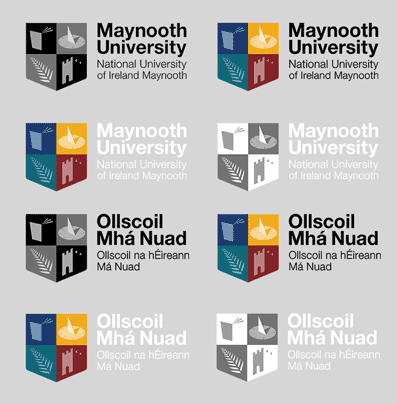 Communications and marketing - Logo previews - Maynooth University