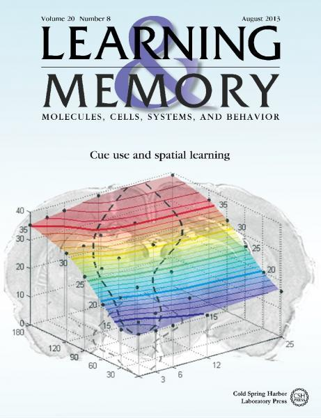 Learning & Memory Cover Sean Commins Mairead Diviney