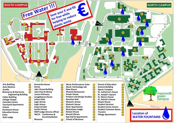 map of maynooth campus Waste Management Maynooth University map of maynooth campus