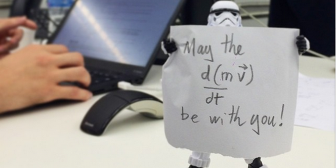 Good Luck - May the Force be with You