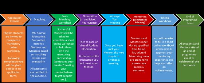 Mentee Process Steps