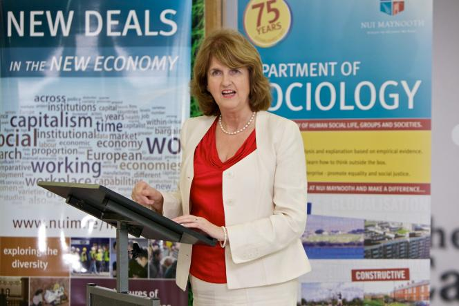 Minister Joan Burton - Dept of Sociology - Maynooth University
