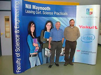 Experimental Physics - Niall and Ian - Maynooth University