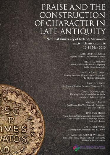 Ancient Classics - Praise Conference poster (May 2013) - Maynooth University