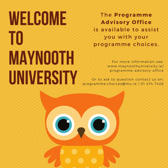 Programme Advisory Office welcomes new first year students