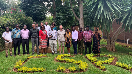Group Photo including Mac MacLachlan and Ikenna Ebuenyi at CSR